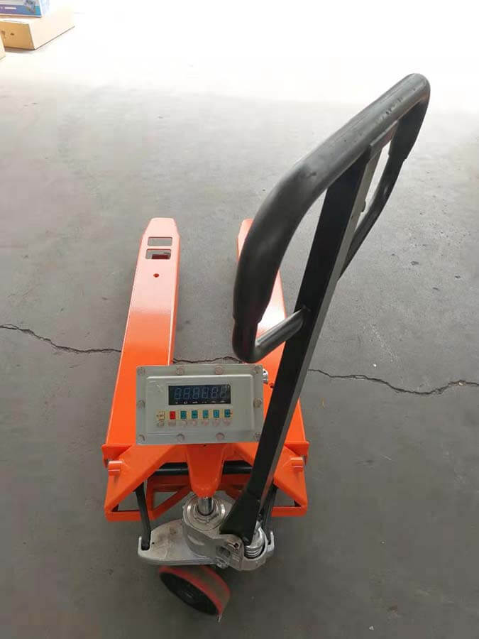 Explosion-proof Pallet Scale